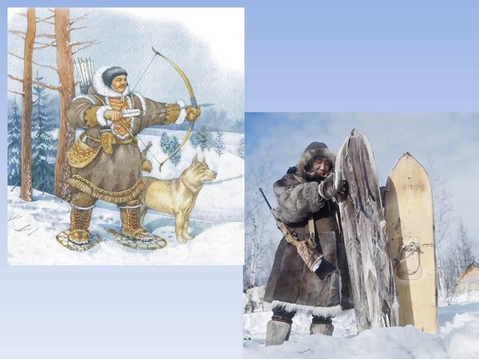 Природный календарь народов ханты и манси. Месяц январь и февраль.