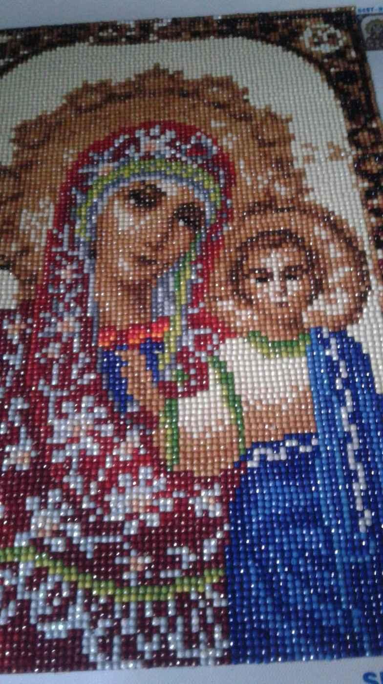 Рубрика «Домашний музей» Алмазная вышивка